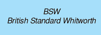 BSW -Whitworth