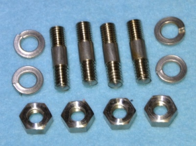 002) BSA A and B Series Sump Plate Stainless Studs etc - 002BA W1-12