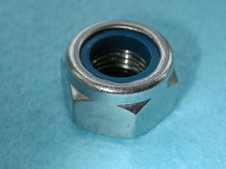 Laverda Swinging Arm Spindle Nut (Stainless) 30531283 - C69
