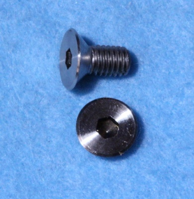 6mm x  10mm Socket Head Countersunk Screw Stainless CSM0610 - M02