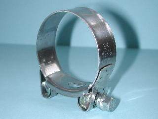 Exhaust Pipe Clamp Stainless 51mm to 55mm EX5155 A49