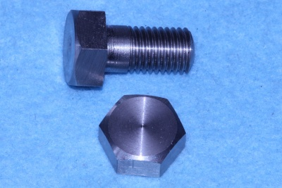 01) 3/8 BSF Hex Bolt x 3/4'' Stainless HB38034