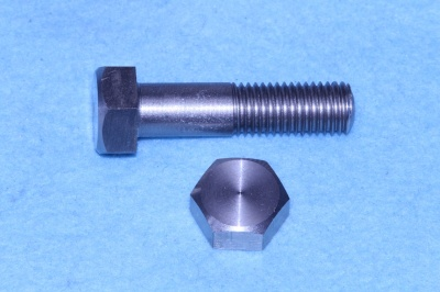 04) 3/8  BSF x 1-1/2'' Stainless Hex Bolt HB38112