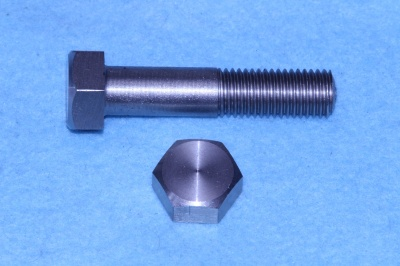 05) 3/8 Stainless Hex BSF Bolt x 1-3/4'' Steel HB38134