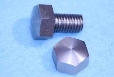 01) 5/16 BSF Bolt x 1/2'' Domed Stainless Steel HB516012D
