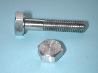 06) 5/16 Stainless Steel x 1-5/8'' Bolt BSF HB516158