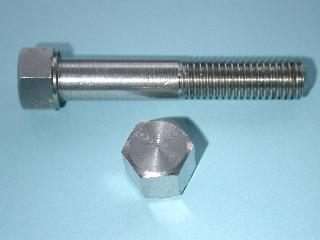 05) 5/16 Bolt BSF Stainless Steel 0.445''A/F x 1-1/2'' HB516112S