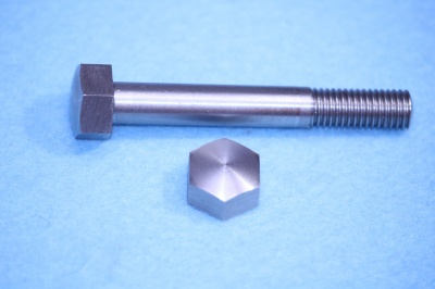 08) 5/16 Stainless BSF Bolt Domed x 2-1/4'' Steel HB516214D