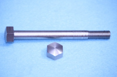 12) 5/16 x 3-1/4'' BSF Stainless Steel Bolt Domed HB516314D