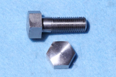 01) 7/16 BSF X 1'' Stainless Domed Bolt HB716100D