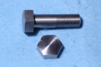 04) 1/2 Cycle (CEI) Bolt  X 1-3/4'' Stainless Steel Domed 26 tpi - HC12134D