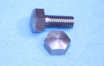 02) 1/4 BSF Stainless Steel Bolt Domed x 5/8'' HB14058D