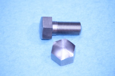 01) 3/8 Cycle X 3/4''  Stainless Steel Bolt Domed HC38034D - U02