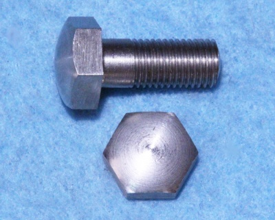03) 5/16 Bolt Domed X 3/4'' Stainless Steel Cycle HC516034D