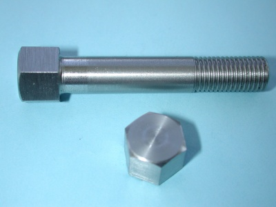 06) 5/16 Cycle (CEI) Bolt Stainless  0.445'' A/F X 1-3/4''  - HC516134S