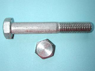 11) M12 80mm Stainless Hex Head Bolt HM1280 - N66