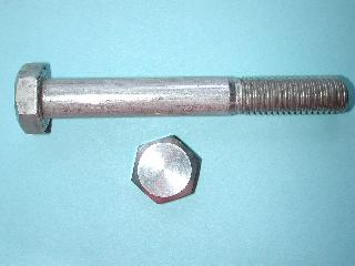 12) M12 90mm Stainless Hex Head Bolt HM1290 - N72