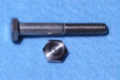 07) 1/4 Steel Hex UNF x 1-3/4'' Stainless Bolt HUF14134