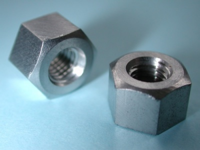 04) 1/4 Stainless BSF Nut Deep 26 tpi NB14026D - Q04