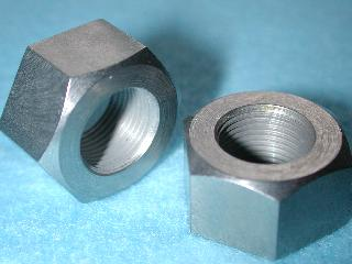 40) 1/2 UNF Nut Stainless Full 20 tpi - NUFF12020 - S49