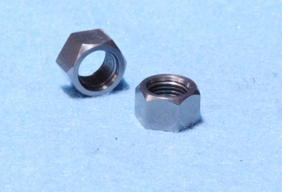 23) 3/8 Nut Cycle 26tpi Stainless Small Hex NCF38026S - L13
