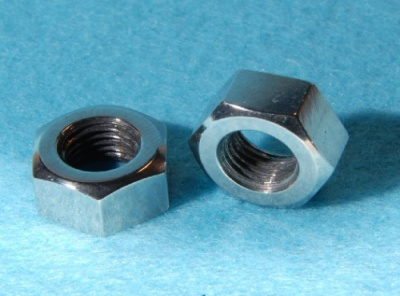 10) 5/16'' Cycle Nut Stainless 26 tpi Full NCF51626 - Q07