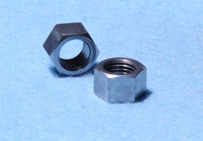 36) 7/16 20tpi Cycle Nut Stainless 0.600'' A/F NCF71620S L20