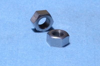 30) 7/16'' Cycle Nut Stainless 26 tpi  Full NCF71626 - Q19