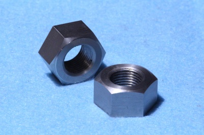 63)  9/16 Stainless Cycle Nut Full 20 tpi NCF91620 - Q32