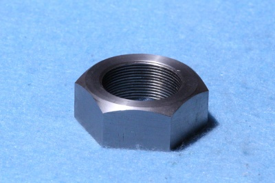 99f) 1 inch Stainless 26tpi Cycle Lock Nut NCL10026 - Q64