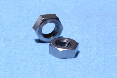 42) 1/2 Stainless Cycle Nut Lock 26 tpi NCL12026 - Q28