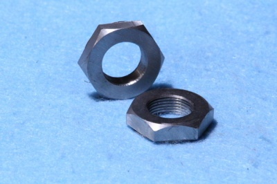 35) 7/16 Stainless 20 tpi Lock Nut Cycle NCL71620 - Q23