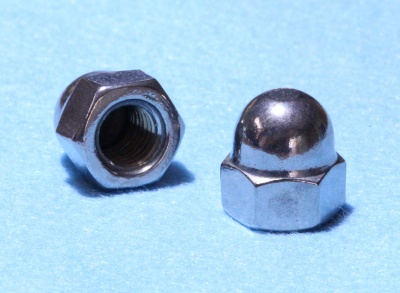 80) 12mm Nut Stainless Domed NMD12 - L23