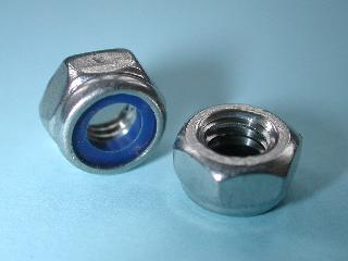 12) 5 mm Nut Stainless Nyloc NMY05 - L04