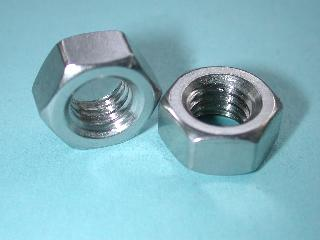 30) 7/16 14 tpi Nut Stainless Whitworth Full NWF71614 - L40