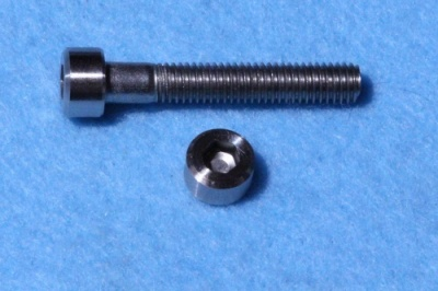 05) M5 30mm Cap Screw Stainless SM0530 - M25