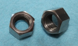 06-7664 Norton Stainless Bottom Yoke Nut 7/16 x 20 tpi 0.600 A/F - L20