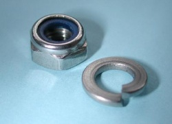 Laverda Horn Fixing Nut and Washers (Stainless) 30510163-2