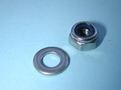 Laverda Oil Filter Nut and Washer (Stainless) 30510123-1