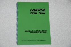 Laverda 1000-1200 Workshop Manual - 94000066 SH-1