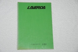 Laverda 180 Additions Manual - VAR180