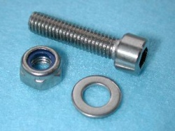 Laverda Brake Lever Pivot Screw(Stainless)30490120