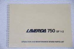 Laverda 750 SF1-2 Workshop Manual - 94000021