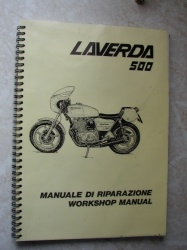 Laverda 500/350 Workshop Manual - 94000048