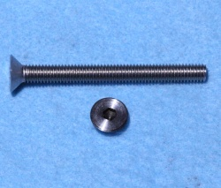 6mm x 55mm Socket Head Countersunk Screw Stainless CSM0655 - M56