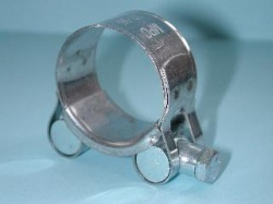 Exhaust Pipe Clamp Stainless 32mm to 35mm EX3235 A13