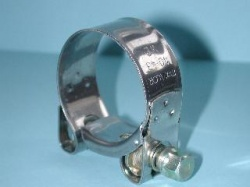 Exhaust Pipe Clamp Stainless 40mm to 43mm EX4043 A25