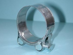 Exhaust Pipe Clamp Stainless 48mm to 51mm EX4851 A43