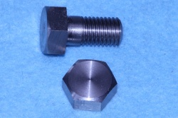 01) 3/8 BSF Bolt x 3/4'' Stainless Steel Hex HB38034