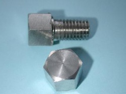 01) 5/16 BSF Bolt x 1/2'' Stainless Steel 0.445'' A/F HB516012S
